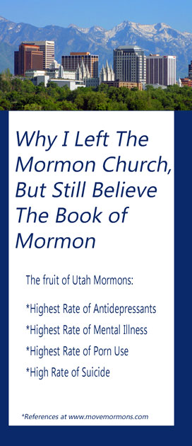 Brochure - Why I Left the Mormon Church But Still Beleive the Book of Mormon
